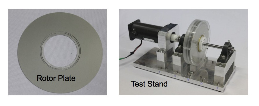 Composite Rotor Plate and Test Stand